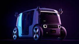 亚马逊发布真无人驾驶电动车,没有方向盘,续航超过特斯拉!