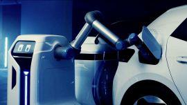 电动汽车充电难?大众提出新的解决方案,停车自动充!