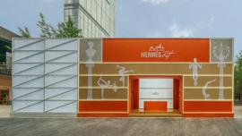 爱马仕全球首家健身房开业,有钱人的生活就是这么朴实而奢华